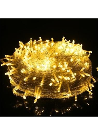 SUME Pilli 10 Metre Günışığı  Dekoratif Aydınlatma Yılbaşı Süs Led Işık Renkli